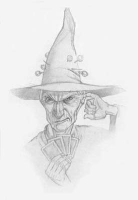 Granny Weatherwax as she appears in The Pratch...