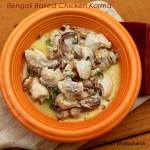 Baked Bengali Chicken Korma - Doi Murgi
