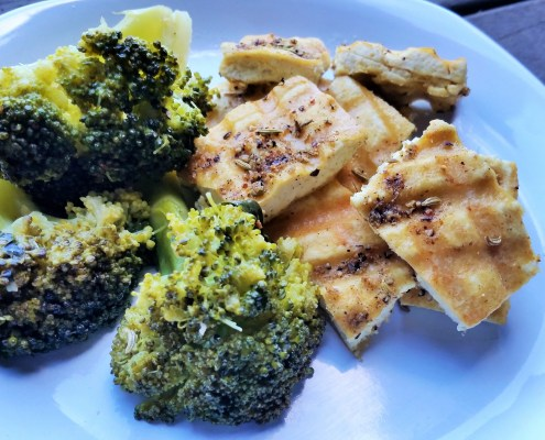 Recipes Extra firm tofu , olive oil , Spice It Up! Lemon, Garlic ...