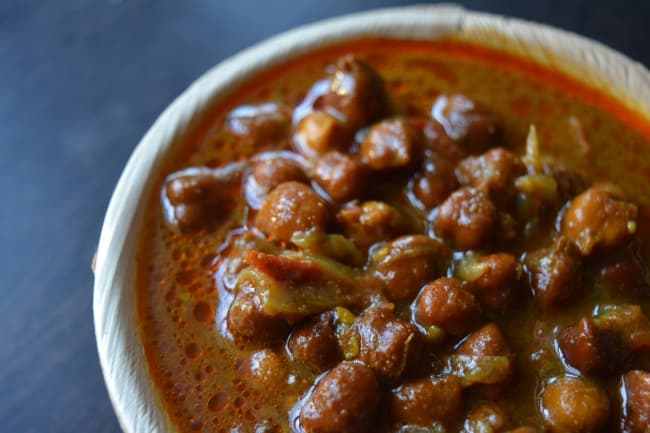 Kadala Curry  without Coconut