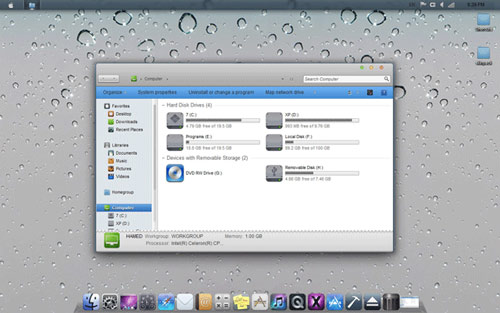 iOS Skin Pack Windows 7 How To Transform Windows 7 to Apple iOS Theme Skin
