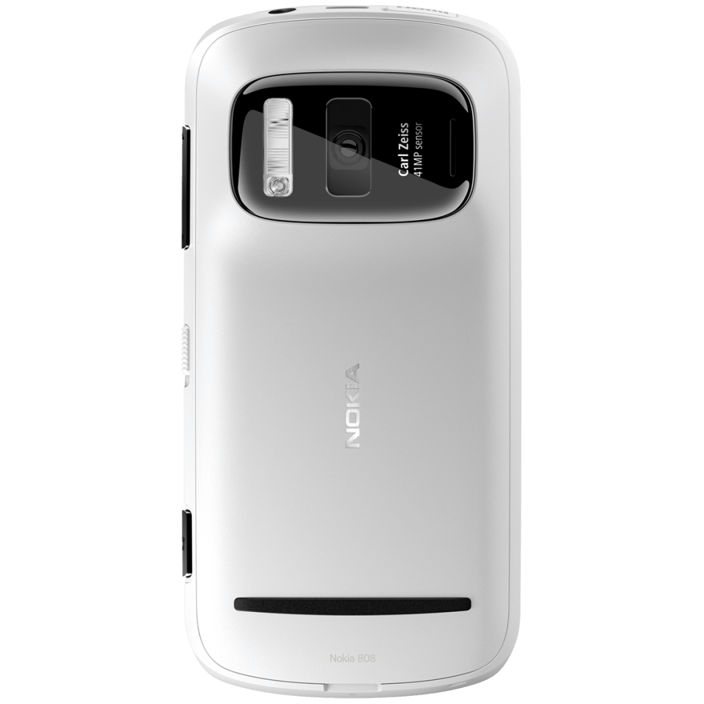 Nokia 808 PureView white Back 1200x1200 1024x1024 Nokia 808 PureView comes with 41 MegaPixel Camera