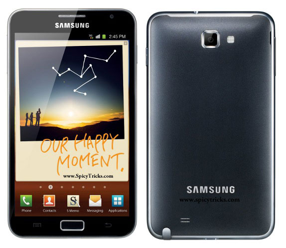 Samsung Galaxy Note Top 15 ANDROID SMARTPHONES for 2012   Price Range Rs.5000 to 40,000