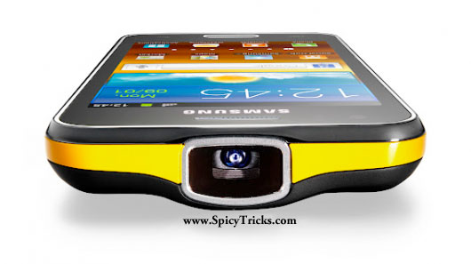 samsunggalaxybeam Samsung unveiled new Galaxy Beam projector phone
