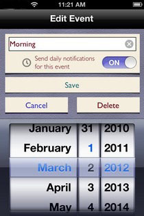 Do Date Event2 Do Date    Event Date Calculator & Reminder & Sheduler iPhone App