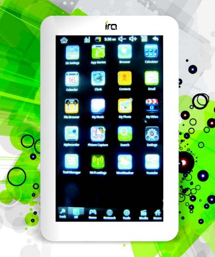 IRA tablet image Wishtel Unveiled IRA Series Budget Tablets Priced R.s 4000 to Rs 5500