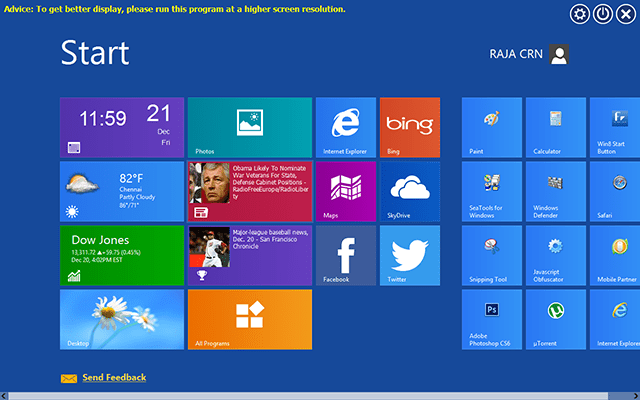 windows 8 metro ui in windows 7 Top 10 Windows 7 Themes, Visual Styles, Stylish Transformation Skin Packs for Win7