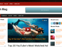 Tech Mag V1.1 – Adsense Supported Premium Free Blogger Template