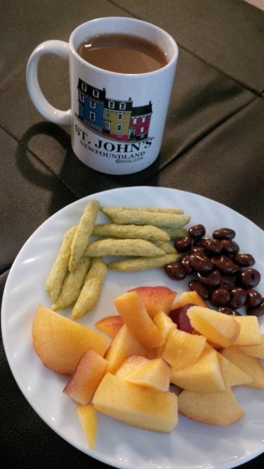 WIAW tea snack