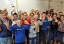 Heel Nederland lakt, ook groep 8 van De Borgstee