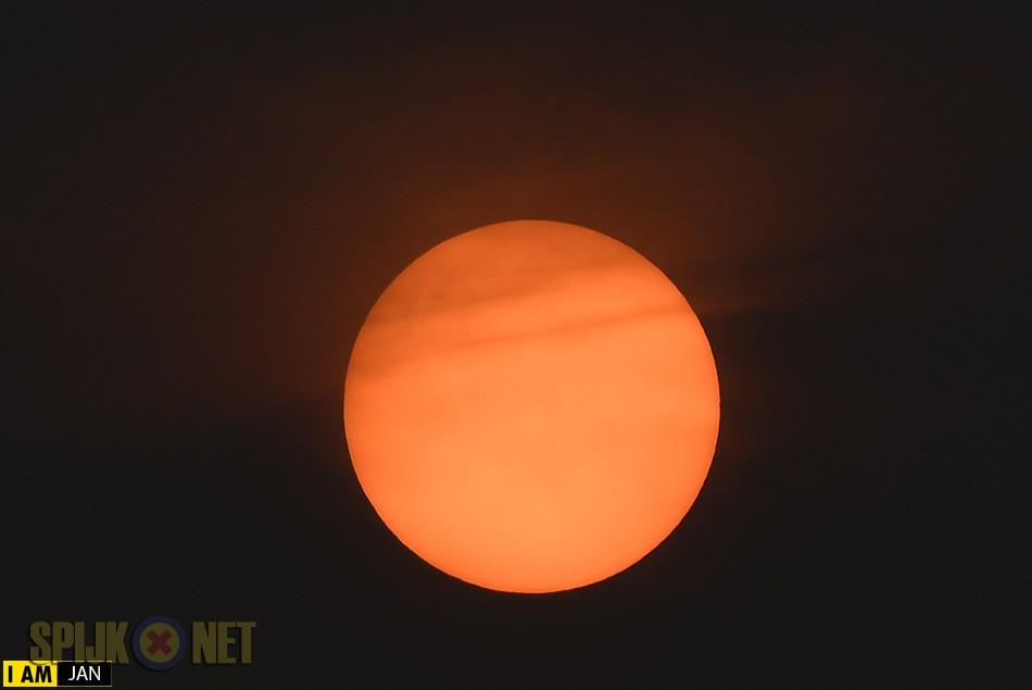 Schitterende zon boven Nederland