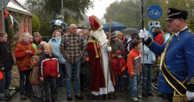 Natte en Koude intocht Sinterklaas