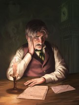 Mr Utterson looks at Jekyll's note