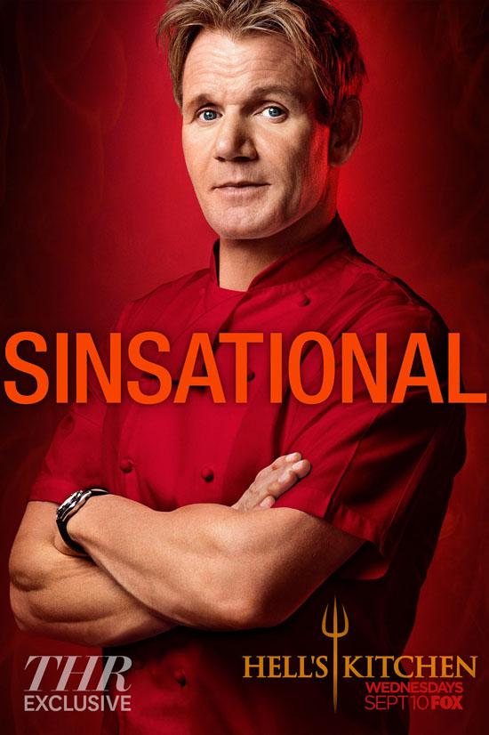 Hells Kitchen Sinsational Key Art Embed Cartaz da nova temporada de Hells Kitchen