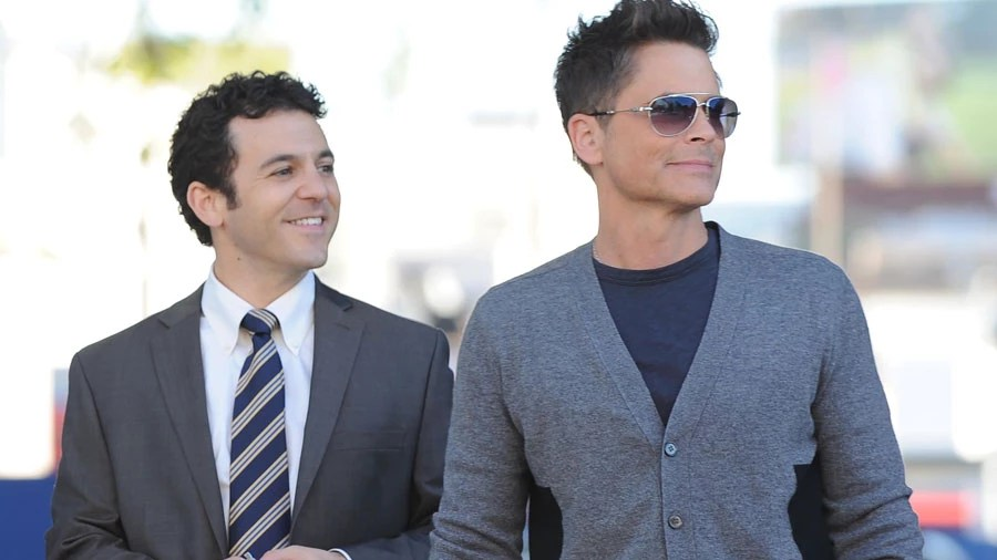fred-savage-rob-lowe-the-grinder-fox