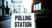 Polling station, photo by Stuart Boreham