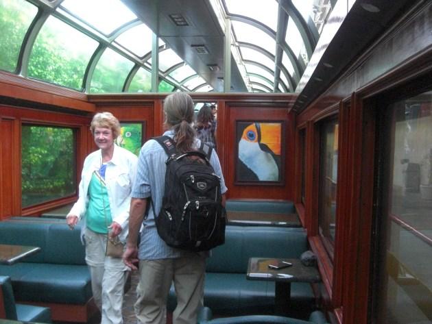 3- entering train