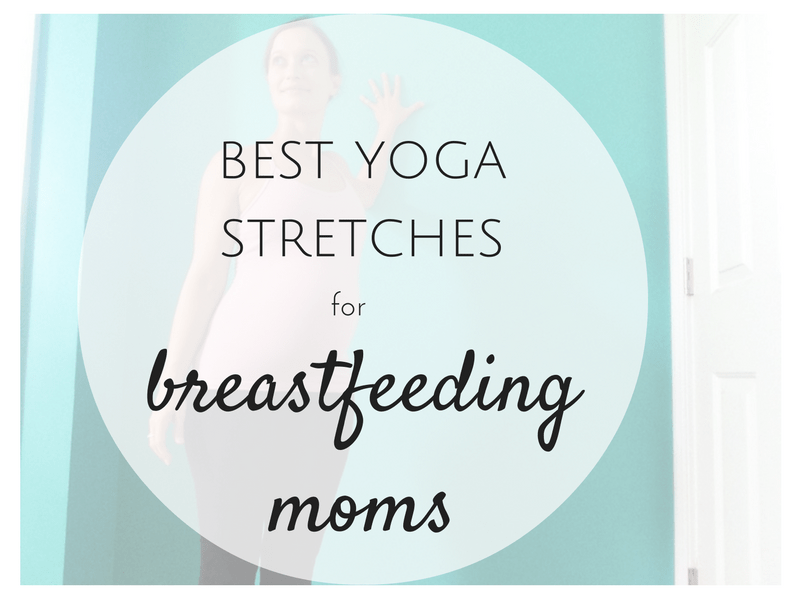 Best Yoga Stretches  for Breastfeeding | Best Shoulder Stretches for Breastfeeding | SpoiledYogi.com