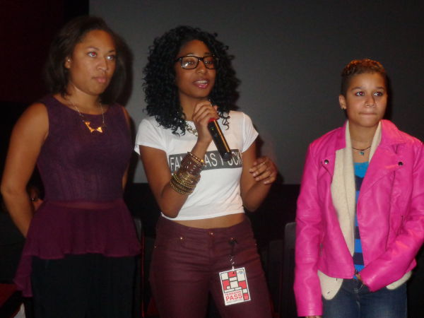 Actress She'Varea Wise, director Briana Watson, and actress Ash Morrow from Infidelity