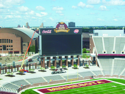 Gopher fans may need to visit a bank  to enjoy their team games. MSR file photo
