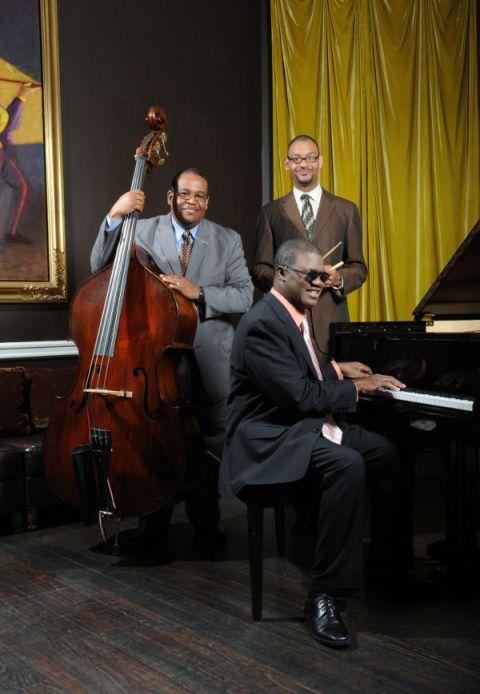 The Marcus Roberts Trio. Photo via www.marcusroberts.com