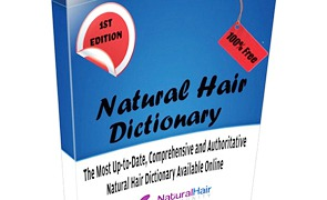 There are several dictionaries  specifically for natural hair