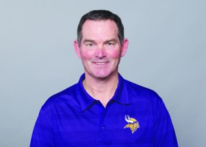 New Vikings Head Coach Mike Zimmer Photo courtesy of the Vikings