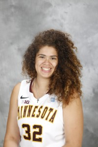 Gophers center Amanda Zahui B.