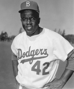 Hall of Fame legend Jackie Robinson