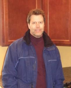 Keith Malmer inside a North Minneapolis rental property                Photos by Charles Hallman