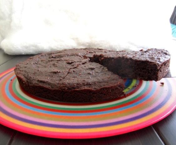 Flourless Chocolate Cake (almonds)