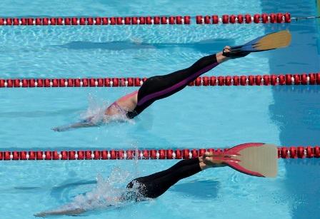 Resultados del campeonato nacional interligas abierto de for Aletas natacion piscina
