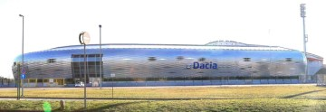 Servizio n.1180233: 22 Gennaio 2016 - Stadio Friuli - UDINE (Udine) - Dacia Arena - udine 21/01/2016 : lo stadio friuli con la scritta dacia. -  -  - fotoudlancia - tratta dal web