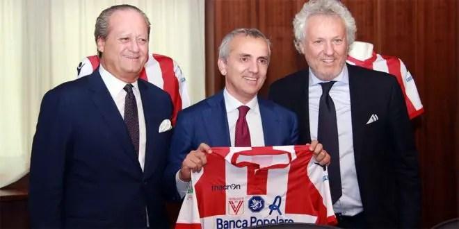 Banca Popolare e Vicenza Calcio ancora insieme: l'esordio di Pastorelli Presidente