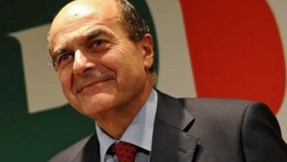 Una immagine tratta dal web di Pier Luigi Bersani (PD)
