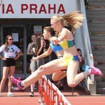 26.5.2018 /Praha / sport / atletika / Přebor Prebor Prahy junioru juniorek , dorestencu a dorostenek. FOTO CPA