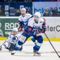 V pátek 1. února 2019 se v plzeňské Home Monitoring Aréně odehrál hokejový zápas 41. kola TipSport Extraligy ledního hokeje mezi celky HC Škoda Plzeň a HC Kometa Brno. ROMAN TUROVSKÝ