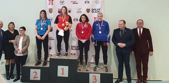 Anna Urbanowicz zdobywa 3 miejsce na Heros Lady Open