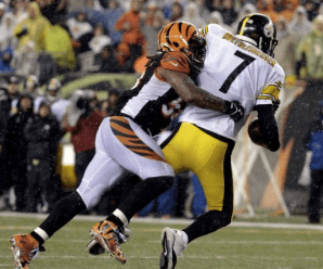 "Ben Roethlisberger responds to Vontaze Burfict ""dirty"" sack"