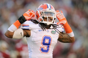 Florida Gators safety Josh Evans would love to hear his name called early in the 2013 NFL Draft.