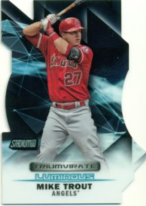 2016 Topps Stadium Club Baseball Mike Trout