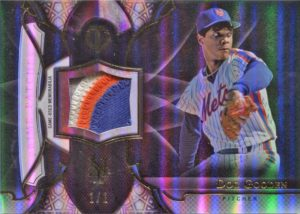 2016 Topps Tribute Doc Gooden Prime Patches 1-1 Card