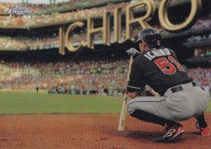 2016 Topps Chrome Ichiro Perspectives Insert Card