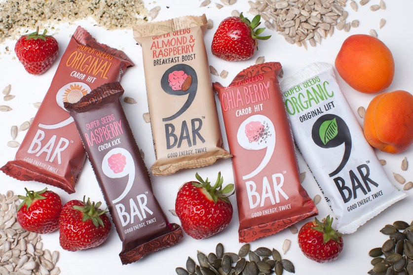 9bars with fruit and seeds