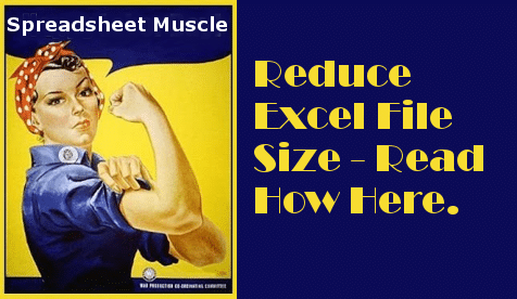 How to Reduce Excel File Size