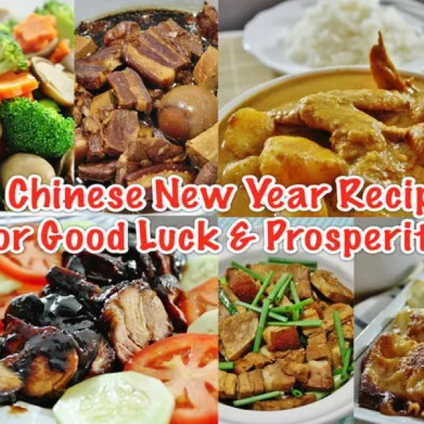 12 Easy Chinese New Year Recipes for Good Luck & Prosperity