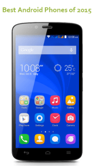 Best low budget android phones 2015