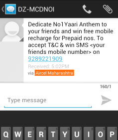 Win free recharge
