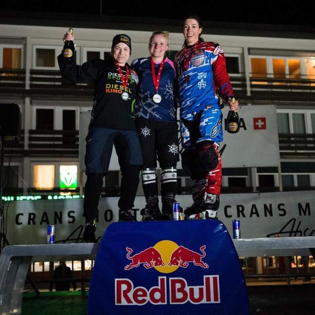 Third in CransMontana! Also I look tall Pic by Markhellip