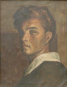 Bozidar-Prodanovic-Autoportret-ulje-na-platnu-1948-49x38-MRTK-L-163-Copy